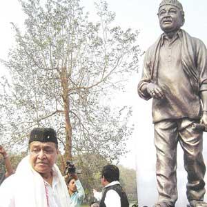 Bhupen Hazarika Statue